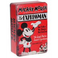 Opbergblik Mickey Mouse rood