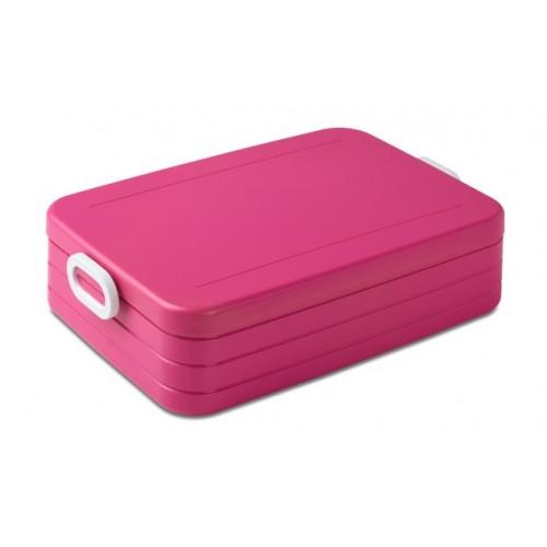 mepal rosti lunchbox take a break large rose. Black Bedroom Furniture Sets. Home Design Ideas