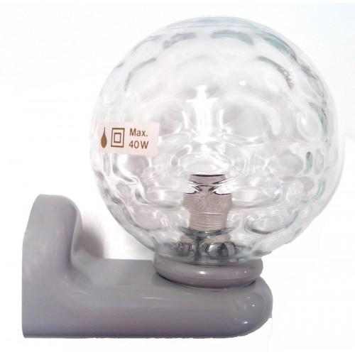 Tiger Badkamer Lamp Grijs