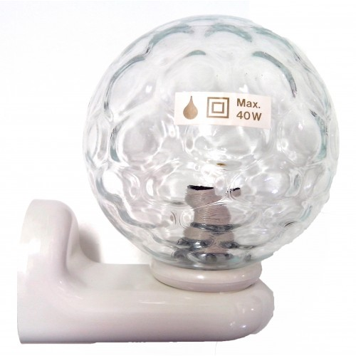 Tiger Badkamer Lamp Wit