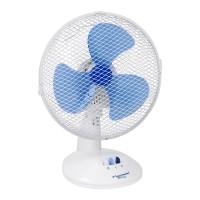 Tafel ventilator wit 27 cm