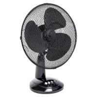 Tafel ventilator zwart 27 cm