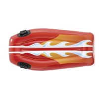 Intex Drijfmat Joy Rider rood