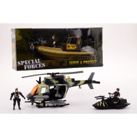 Army Forces Leger Helikopter set