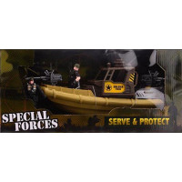 Army Forces Leger speedboot set
