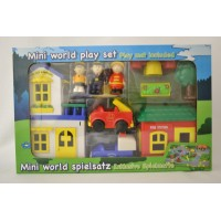 Mini World speel set met school en postkantoor