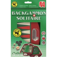 Backgammon en Solitaire Reisspel