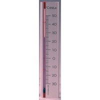 Indoor outdoor thermometer zilver